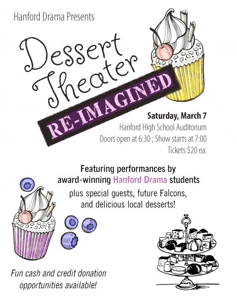 Dessert Theater March 7